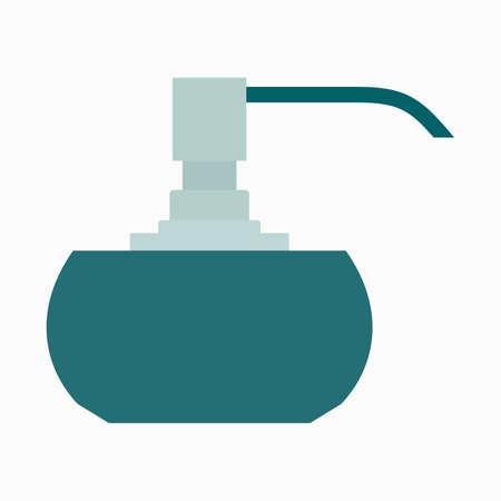 Refillable soap and washing liquids dispenser Çizim