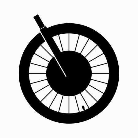 Wheel hub motor of an electric bicycle Çizim
