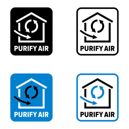 """""""Purify air"""" method and system information sign"""