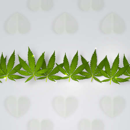 Marijuana leaves icon.
