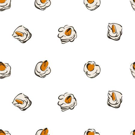 sushi seamless background. Sushi seamless