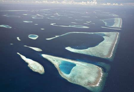 blue lagoon: Atollo di Male Sud Archivio Fotografico