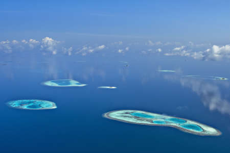 몰디브의 산호초