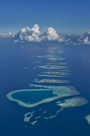 몰디브 산호초