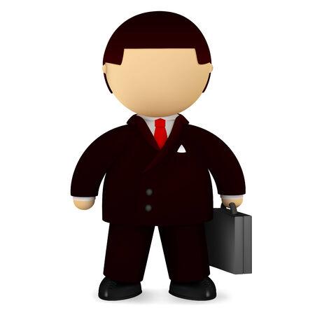 Self-confident businessman Ilustra��o