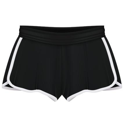 Sport shorts template Stock Vector - 20357942