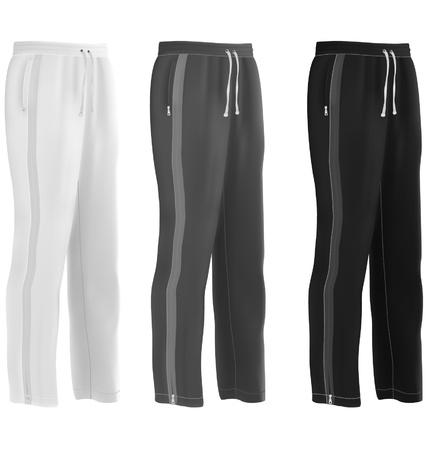 Sport sweatpants set Stock Vector - 20357925