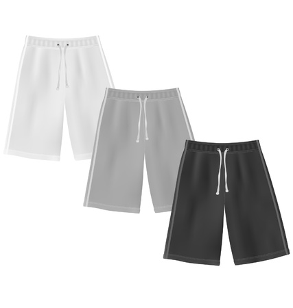 Sport shorts template Stock Vector - 20357945