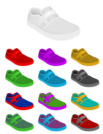 Sneakers set template