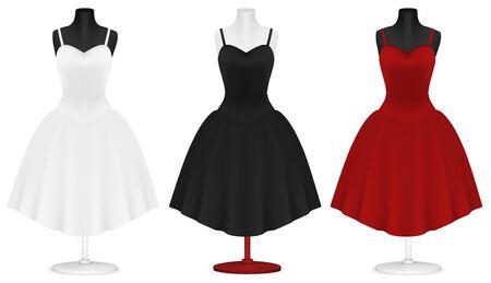 bosom: Classic womens plain dress template