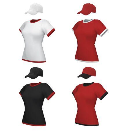 Baseball Hats Template. Royalty Free Cliparts, Vectors, And Stock ...