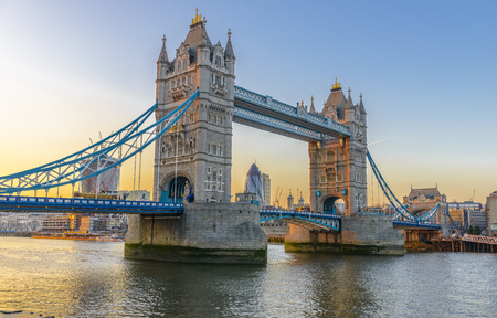Tower Bridge is a bridge in London. It crosses the River Thames near the Tower of London. photo