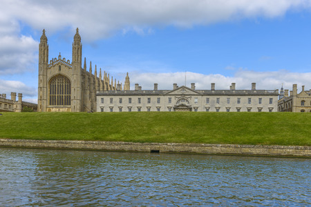 cambridgeshire: Kings College Chapel and College, Cambridge University, Cambridge, England