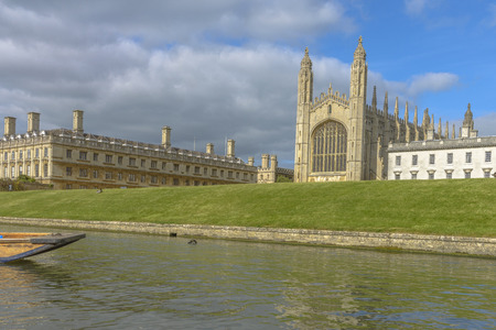 cambridge: Kings College Chapel and College, Cambridge University, Cambridge, England