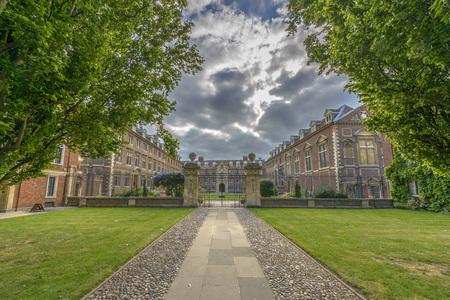 St Catharines College at Cambridge University, England