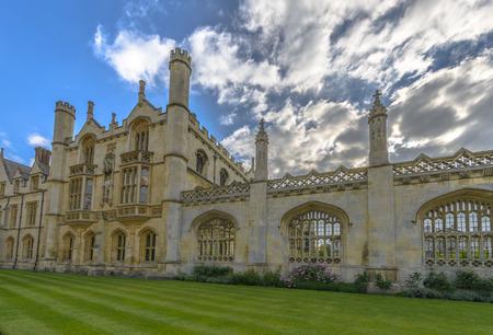 cambridgeshire: Kings College at Cambridge University, England