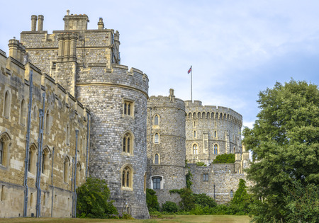 the royal county: Windsor Castle is a royal residence at Windsor in the English county of Berkshire Editorial