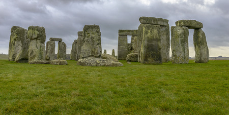 Stonehenge is a prehistoric monument located in Wiltshire, England