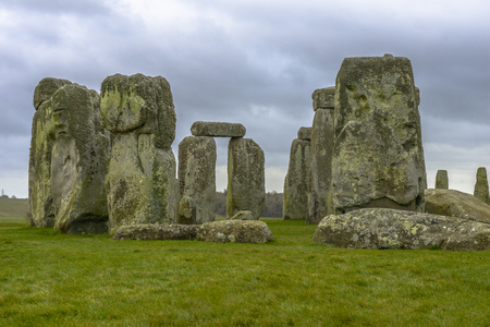 Stonehenge is a prehistoric monument located in Wiltshire, England photo