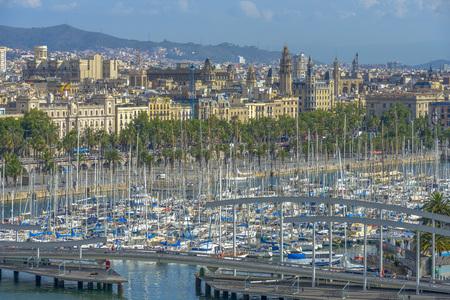 Port in Barcelona, Catalonia, Spain