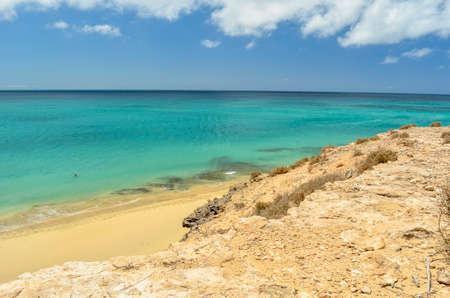 Atlantic Ocean in Fuerteventura, Canary Islands, Spain