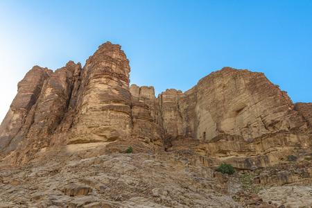Mountains in Wadi Rum desert, Jordan Stockfoto