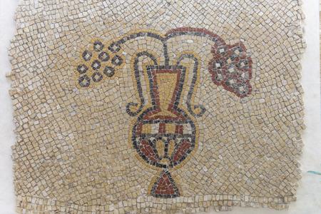 Mosaic from the Kayanos Church in Mount Nebo in Jordan.