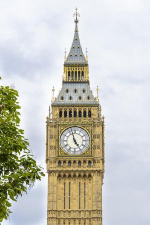 Big Ben (clock tower) in London, England Stockfoto
