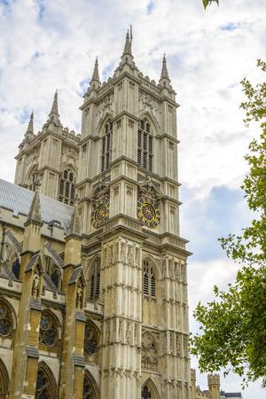 Westminster Abbey in London, England Stockfoto