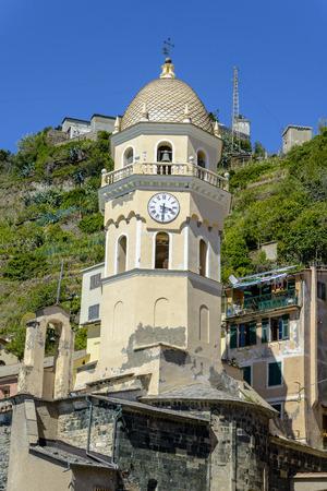 Vernazza, Cinque Terre (Italian Riviera, Liguria) at day