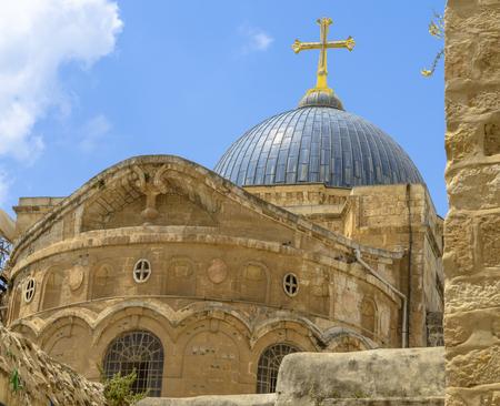 Chiesa del Santo Sepolcro, Gerusalemme Vecchia Archivio Fotografico