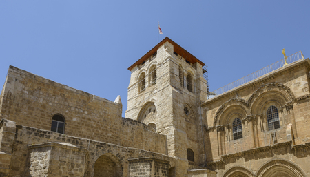 Church of the Holy Sepulchre in Jerusalem, Israel Stockfoto