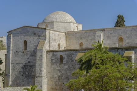 Church of Saint Anne Exterior in Jerusalem 版權商用圖片