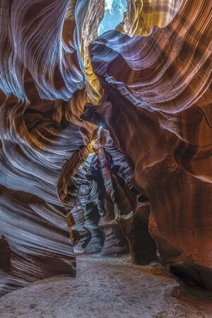 Rock formation in Antelope Canyon in Page, Arizona, USA Stockfoto - 131626665