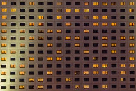 many windows: Facade with many windows
