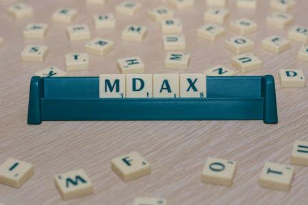 indices: MDAX Stock Photo