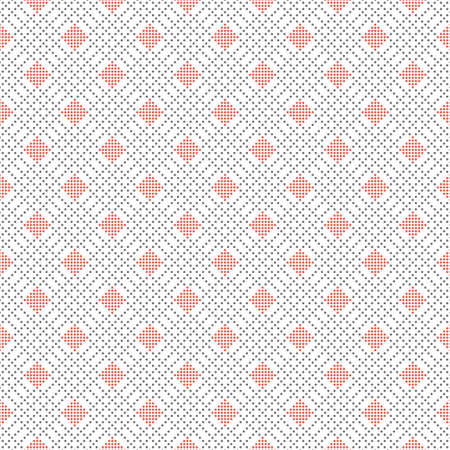 Seamless geometric pattern.An endlessly repeating dotted texture.Background with diagonal elements. Surface for wrapping paper, shirts, cloths.Vector illustration.