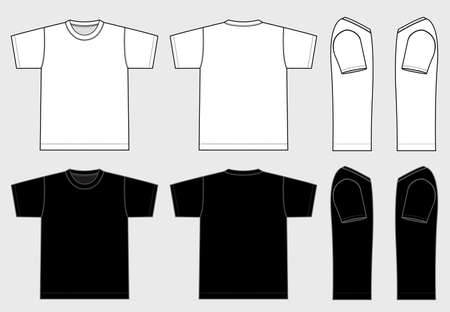 Men's Tshirts illustration [vector] 向量圖像