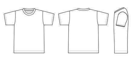 T-shirts illustration