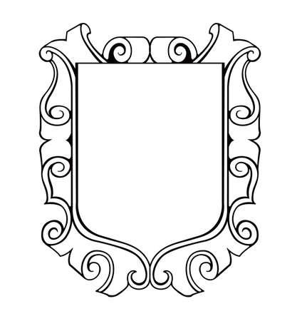 ilustracja godło tarczy