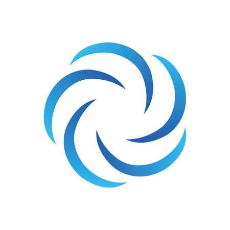 Wavewhirlpool icon symbol design. Иллюстрация