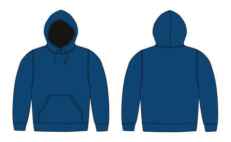 Hooded sweatshirt icon.