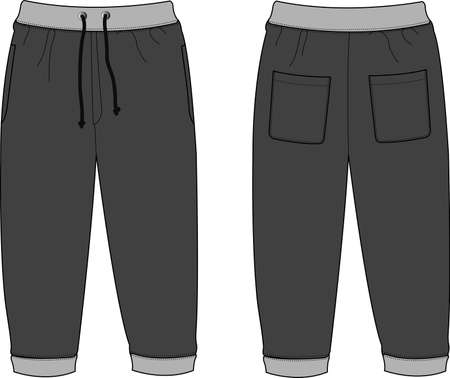 Illustration of Sweat Pants