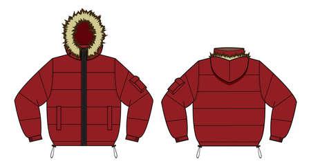 冬のコートアイコン。 写真素材 - 91754123