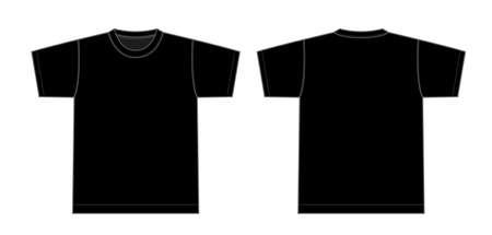Tshirts illustration (black)