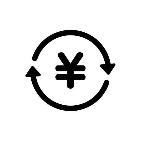 japanese yen exchange icon
