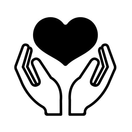 Consideration, help and kindness icon