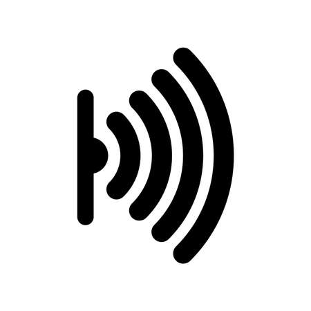 sensor icon Vector illustration.