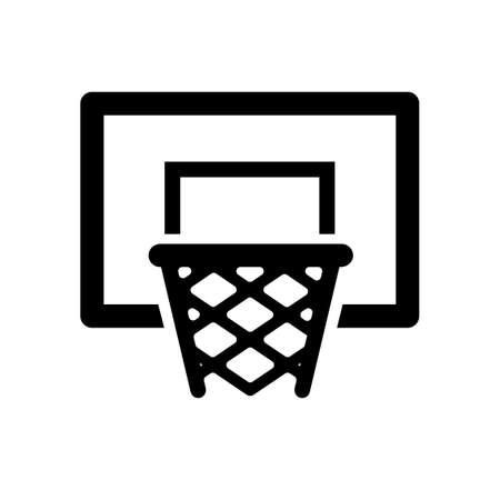バスケット ボール ゴール アイコン。 写真素材 - 91822369