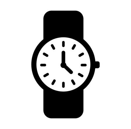 Watchwristwatch icon Ilustrace